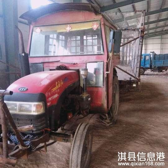 东方红400拖拉机带7米平板车斗出售